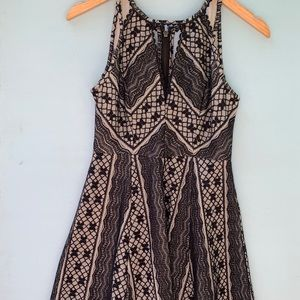 Free People Fit n Flare Lace Dress